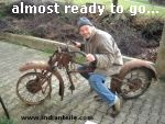 Foto: Indian Chief almost ready to go.....